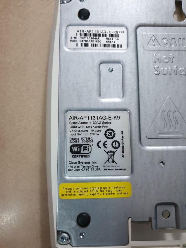 Antena Cisco Aironet AIR-AP1131AG-E-K9