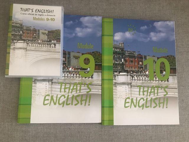 Libros That's English! Módulos 9 y 10