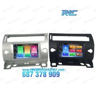 Radio Navegador GPS DVD Android 8,0 para Citroen C