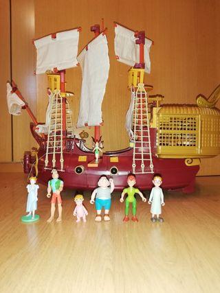 Barco Pirata Peter PAN