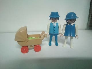 Playmobil familia bebe