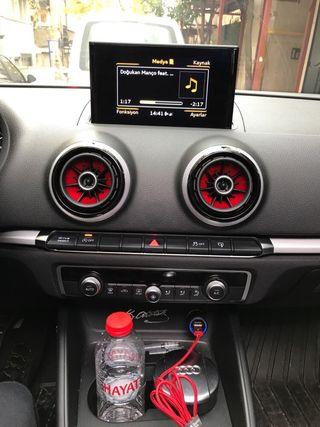 Piezas Rojas Aire Acondicionado Audi A3