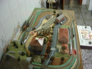 Maqueta tren escala N