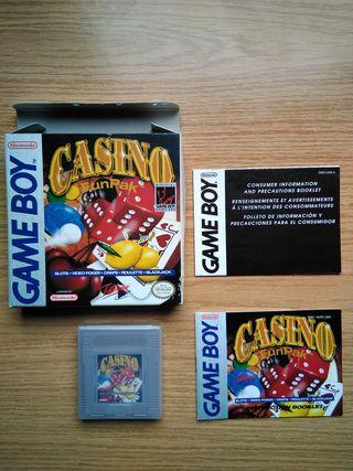 Juego original Gameboy con caja - Casino Funpack