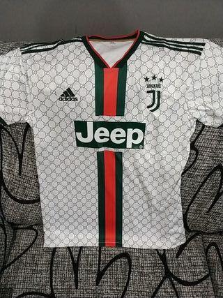 Camiseta Juve x Gucci Talla L