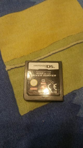 Fantastic four and silver surfer para nintendo ds