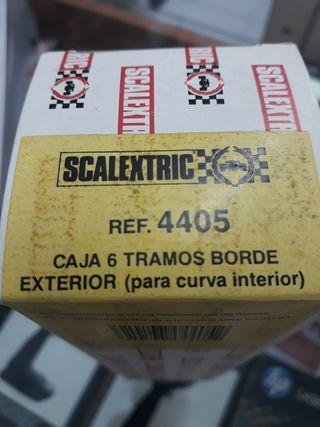 Scalextric exin 6 bordes exterior curva interior