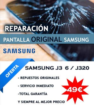 Cambio y sustitución de pantalla tactil Samsung