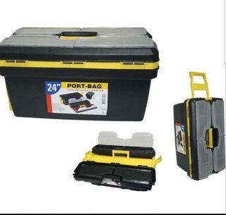 """caja herramientas 24"""" con ruedas"""