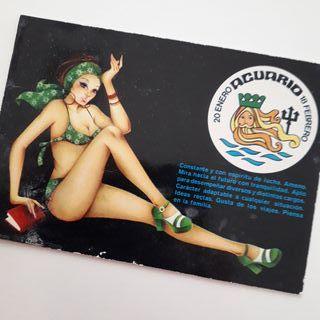 Postal zodiaco acuario