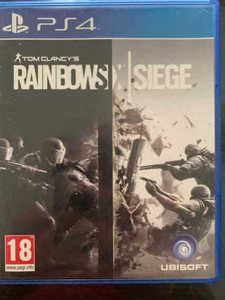 Juego PS4 Rainbows six siege