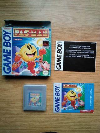 Juego original Gameboy con caja - Pacman