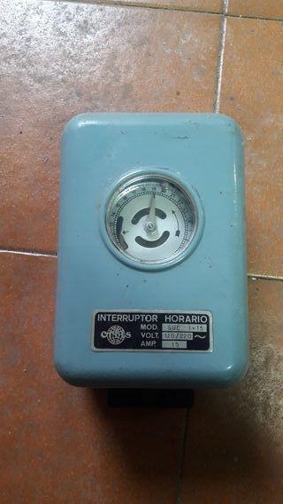 interruptor horario antiguo