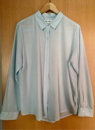 Camisa mujer azul Talla 46