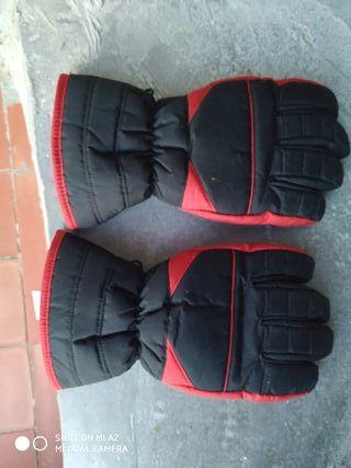 guantes ciclomotor