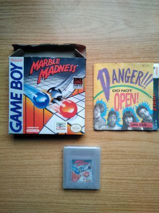 Juego original Gameboy con caja - Marble Madness