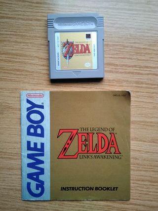 JuegoGameboy - Zelda: Link's Awakening + Manual