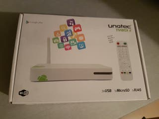 Android Tv unotec tivibox II