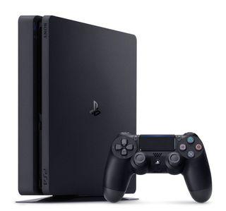 Playstation 4 con mando y juegos