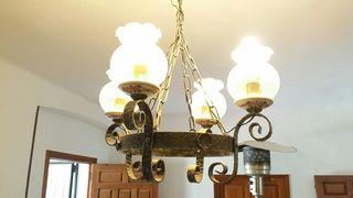 Lámpara techo + apliques de pared