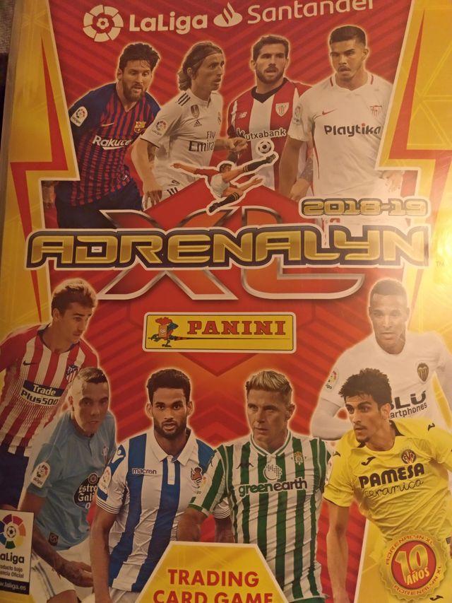 Cromos Adrenalyn 18-19