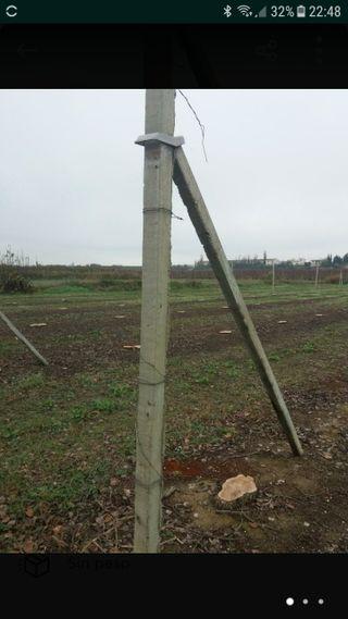 postes de hormigon