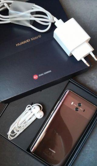 Huawei mate 10 mocha brown
