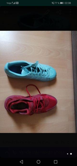 Adidas superstar y huarache
