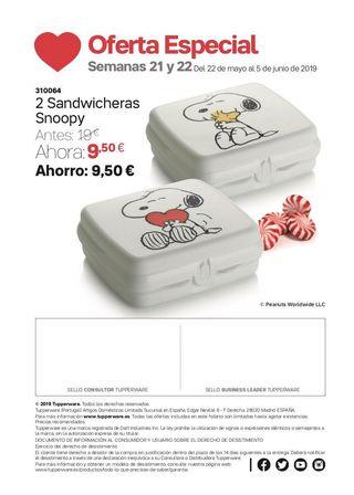 Sandwicheras Snoopy