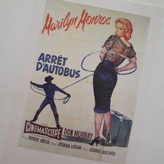 Postal Marilyn Monroe