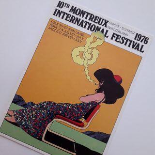 Postal 10 festival internacional Montreux 1976