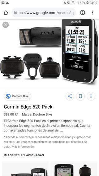 Garmin edge 520 pack