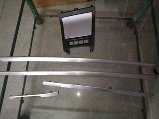 aluminio cepillado golf mk5