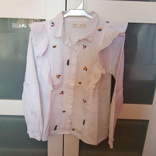 T. 10 años. Camisa entretiempo Zara
