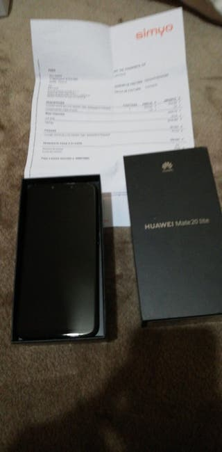Huawei mate 20 lite 64Gb libre impecable
