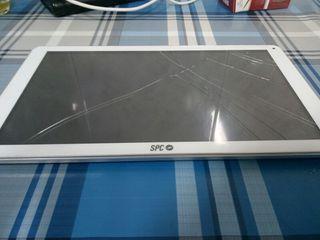Tablet para piezas.