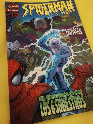 Spider-Man #13. El regreso de los seis siniestros