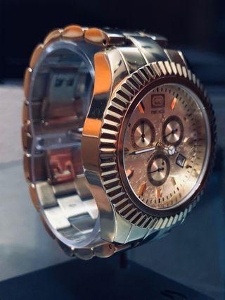 Reloj marc ecko gold chrono