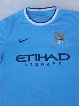 camiseta de fútbol Manchester city