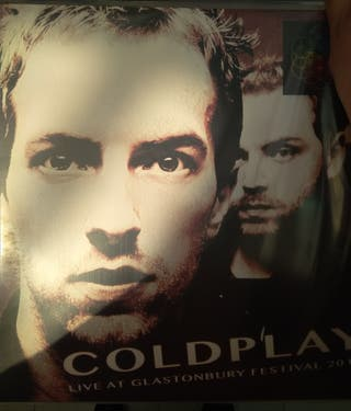 Coldplay Live in Glastonbury 2 LPS