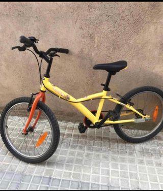 Bicicleta decathlon de 5 a 9 años