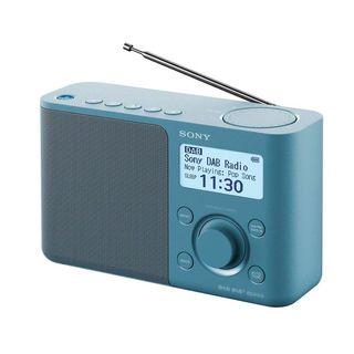 Sony xdr-s61d azul radio dab/dab+ portátil con pan