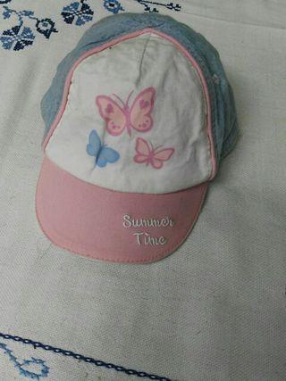 Gorra para bebe