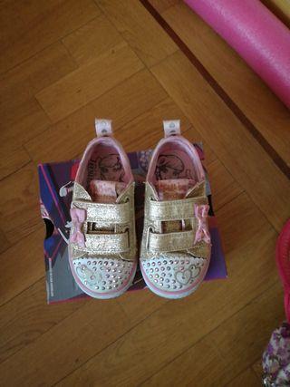 zapatillas luces