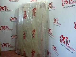 Base tapizada Relax 105x200 cm nueva con patas