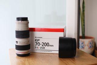 Objetivo Canon 70-200mm f/4L USM