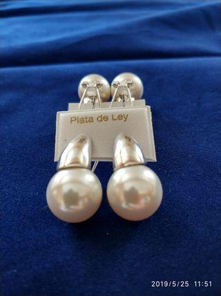 ba639dc89f49 Pendientes con perlas cultivadas de segunda mano en WALLAPOP