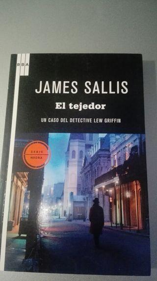 LIBRO EL TEJEDOR. JAMES SALLIS.