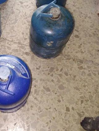2 bombonas de gas azul (En venta por cada unidad)
