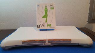 Tabla Wii Balance Board + juego wii fit